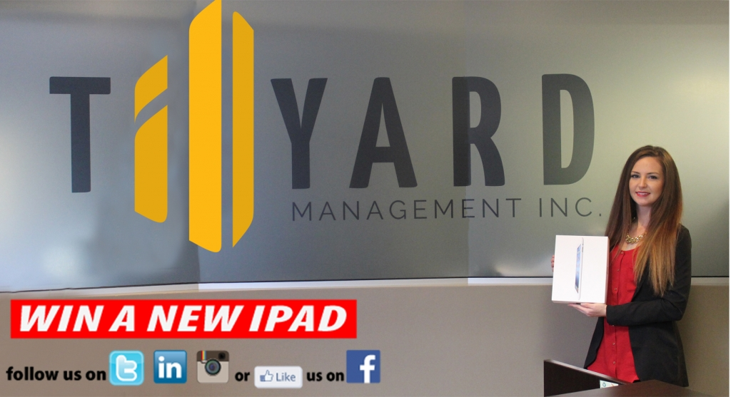 Win a New IPad with Tillyard Management