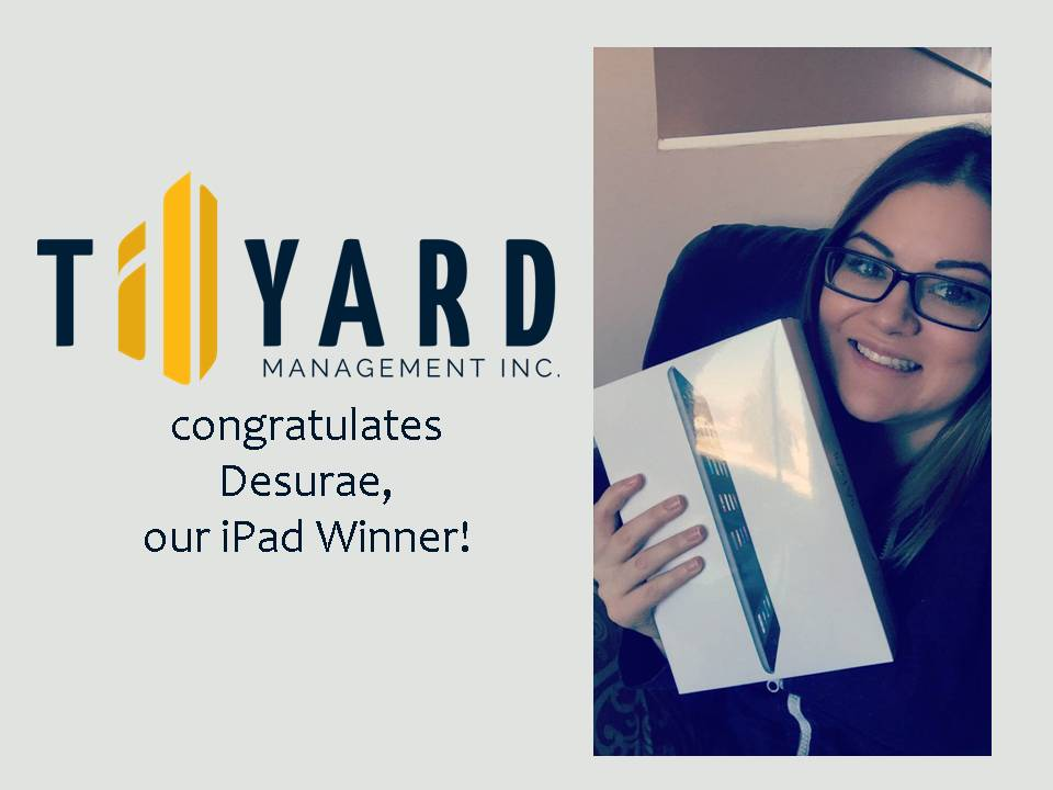 tillyard ipad winner